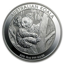 2013 10 oz Silver Australian Koala Coin - Brilliant Uncirculated - SKU #71396