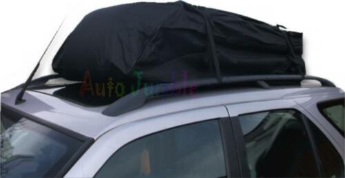 Vauxhall Zafira Opel 5 Door CAR Roof Carrier BAG BOX For Raised Rails Luggage