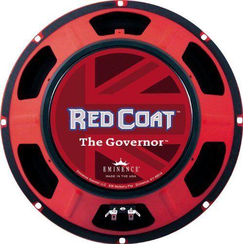 Eminence Rojo Abrigo Abrigo Abrigo el gobernador altavoces 16 - 75 W RMS - 70 HZ a (thegovernor 16) a95bfa