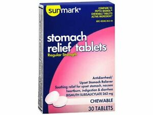 Stomach Pain Medicine Tablets