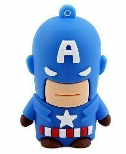 USB Flash Drive Cartoon Super Hero Iron Man Flash Memory Batman Pendrive lot