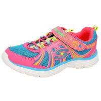Sketchers Girl 12 13 1 2 Wunderspark Neon Sparkle Shoes Lightweight Ecstatix