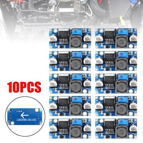 10pcs DC-DC Step Down Buck Voltage Converter Modules LM2596S 3A 1.25-35V Sets