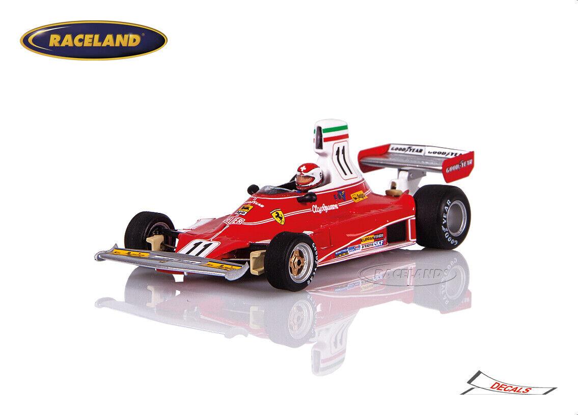 Looksmart 1:18 Ferrari 312B Scuderia F1 Sieger GP Italien 1970 Clay Regazzoni