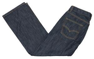 Levi-039-s-514-Sz-10-Husky-Boys-30Wx26L-Adjustable-Waist-Straight-Denim-Jeans-NWT