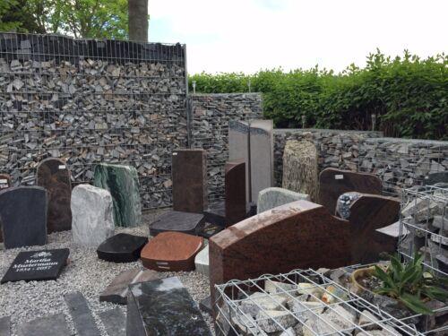 Gedenkstein Gedenkstele für zu Hause Erinnerungsstele aus Sandstein mit Schrift