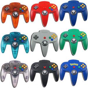Original-Nintendo-64-Controller-N64-Gamepad-Control-Pad-Grau-Schwarz-Grun-Gelb