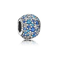 New Pandora Charm 791261NSBMX Sky Mosaic Pave, Mixed Blue Crystals Box Included