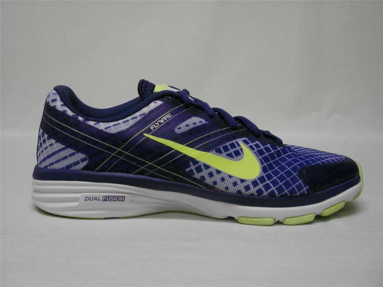 NEW NIKE DUAL FUSION TR 2 PRINT WOMEN'S SHOES 6 PURPLEAWESOME SHOES