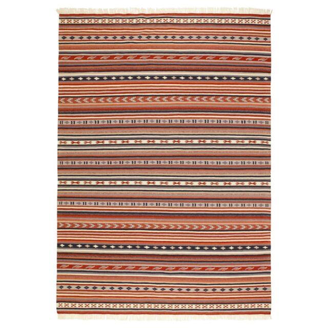 Ikea Rug Flatwoven, Handmade Multicolor