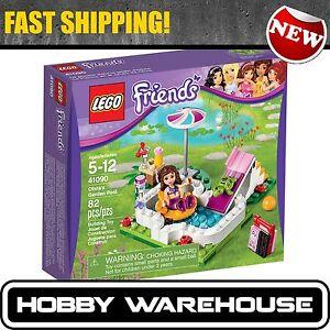 Lego 41090 Friends Olivia 39 S Garden Pool Brand New Sealed