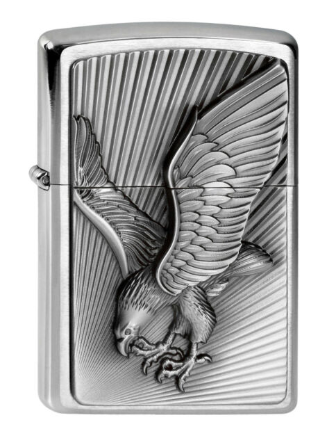 powerful  ZIPPO Eagle 2013 Emblem - Heavy Plate lighter - new and mint