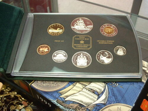 CANADA  1999   PROOF DOUBLE DOLLAR  SET  ***8 COINS***