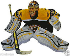 The Boston Bruins TUUKKA RASK 2013 Stanley Cup Champs Goalie WindoCling Stick-On