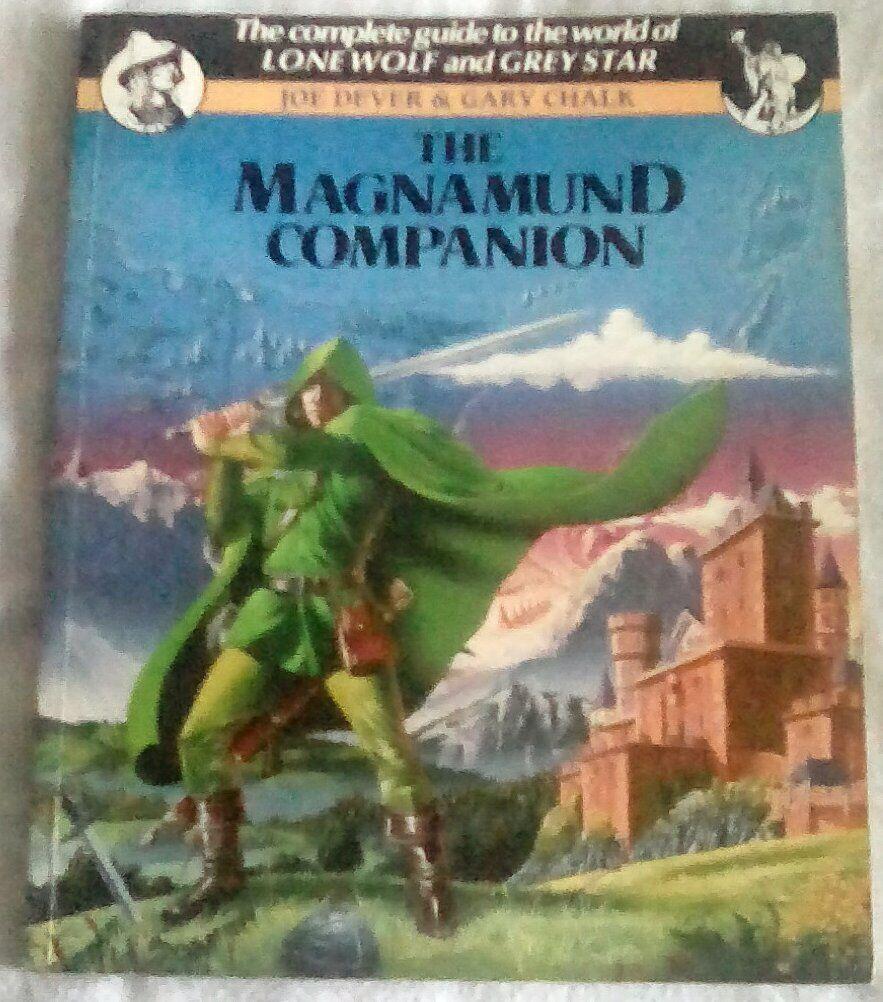 Lone Wolf Magnamund Companion Fantasy RPG Gamebook World Sourcebook Grey Star