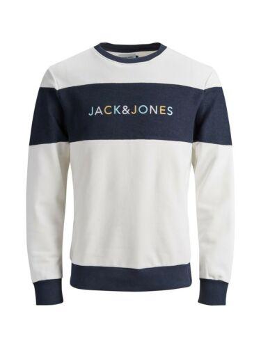 Jack /& Jones Originals Sweater Summer Logo Crew Neck L//S Jumper Mens JORAlbas