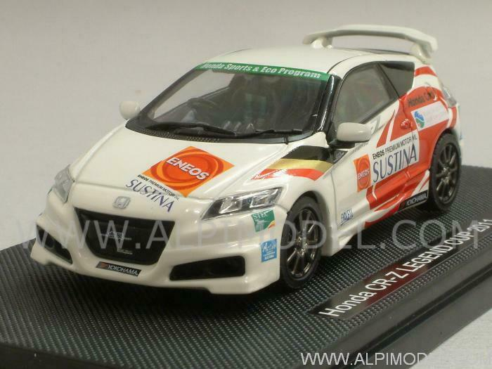 Honda CR-Z Legend Cup 2011 bianca with decals for N.3 15 32 37 1 43 EBBRO 44692
