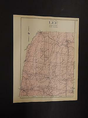 New York 1907 Town Of Lee R3#30 Oneida County Map