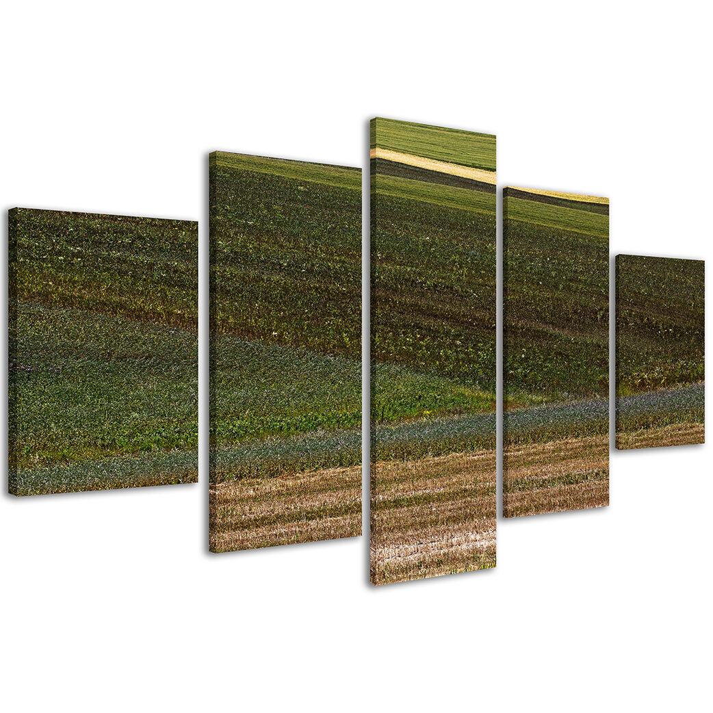 Quadri Moderni 200 x 90 90 90 cm Stampe su Tela XXL i Colori della Puglia Italia  118 360fea
