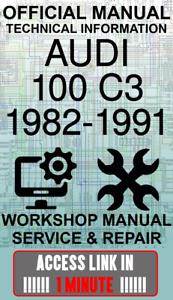 #ACCESS officina ufficiale di collegamento Manuale servizio e riparazione AUDI 100 C3 1982-1991