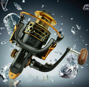 Spinning Fishing Reel 13+1BB 5.5:1 Carp Spinning Wheel Ball Bearing Reels Boat R