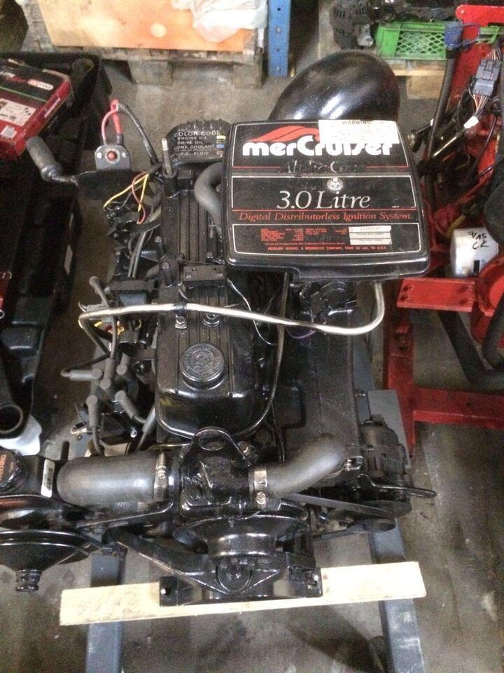 Mercruiser 3L, Mercruiser, hk 135