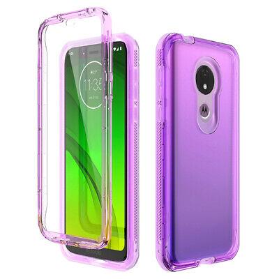 For Motorola Moto G7 Power G7 Play Case Hard 360 Full Cover Screen Protector Ebay