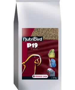 4 Pièces Nutribird P19 Original,4 X 10 Kg, Zuchtfutter Pour Perroquets -