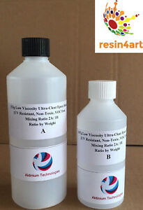 Details about 500g Ultra-Clear Low Viscosity Non-Toxic Epoxy Resin for  Fibreglass Applications