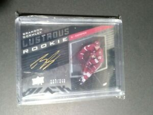 2014-15-UD-BLACK-LUSTROUS-ROOKIE-AUTO-LR-BG-BRANDON-GORMLEY-167-349