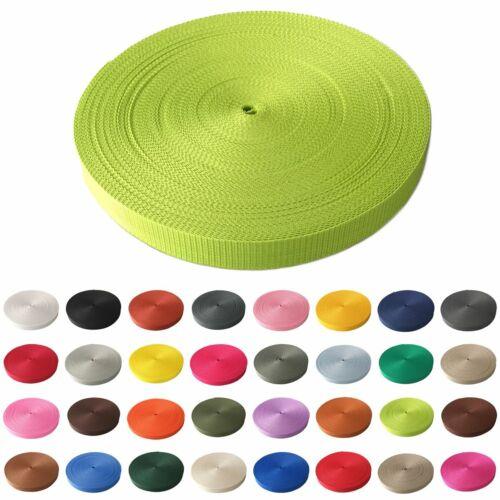 1m Gurtband 30 mm viele Farben Taschenband Trageband Tragegurt Rolladenband