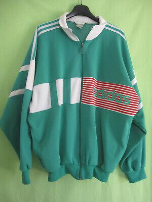 Veste Adidas 90'S Vintage Vert et rouge Jacket Tracksuit Sport 52 | eBay