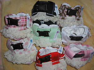 3 pack of Diaper Covers for Java, Capuchin, Owl, Snow, Squirrel for Male/Female