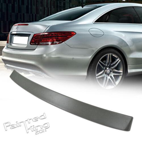 E350 Mercedes Benz E-class C207 Coupe Rear Window Roof spoiler Wing Unpainted