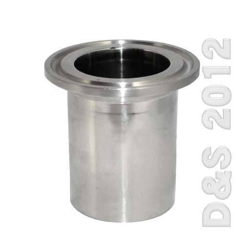 """1/"""" DN25 Hembra NPT Roscado Virola sanitario TRI CLAMP ss 316 de tubería accesorios"""