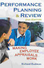 Performance Planning and Review: Making Employee Appraisals Work by R.S. Rudman (Paperback, 2003)