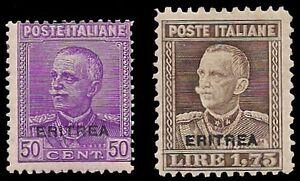 ERITREA-1928-29-n-136-37-NUOVI-180