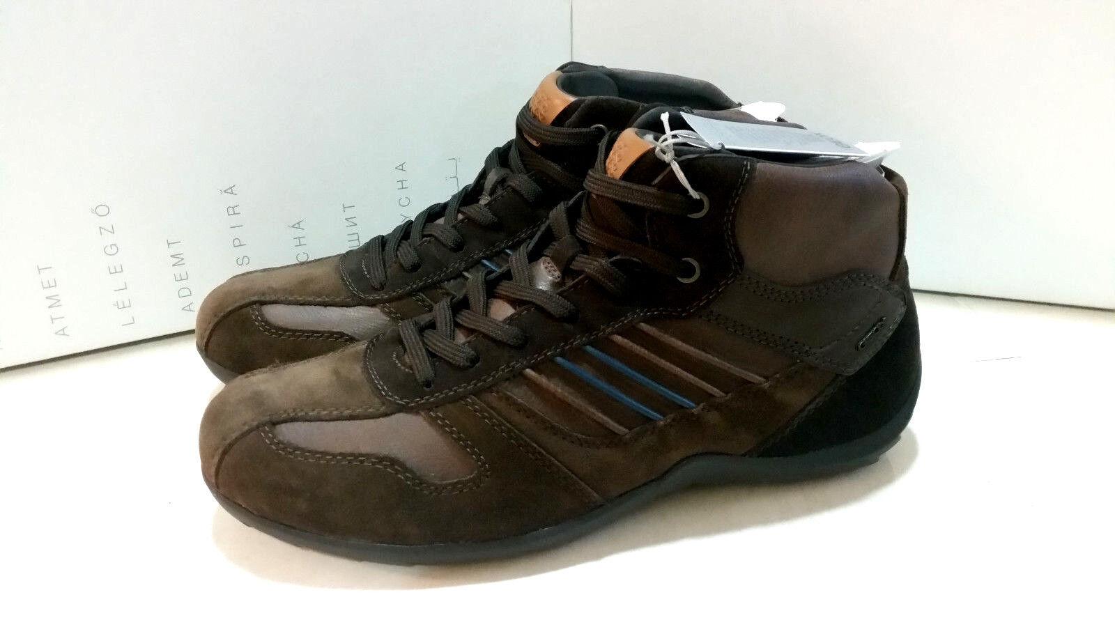 Geox respira u Pavel B Gamuza + Tumb. GBK botas para hombre de EE. UU. marrón castaño