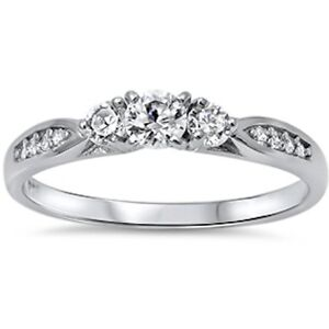 Cz-Fashion-Promise-925-Sterling-Silver-Ring-Sizes-3-12