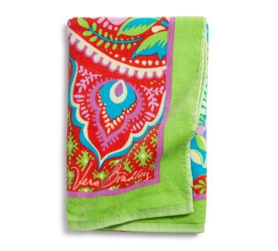 Ebay Vera Bradley Beach Towel: Vera Bradley Petal, Parisian & All Things PAISLEY
