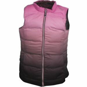 Island-Green-Padded-Sleeveless-Gilet-12-16-18-Bright-Pink-Grey-Sublimation-New