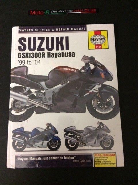 Haynes Manual 4184 For Suzuki Gsx1300r Hayabusa 99 To 04 Sale Online