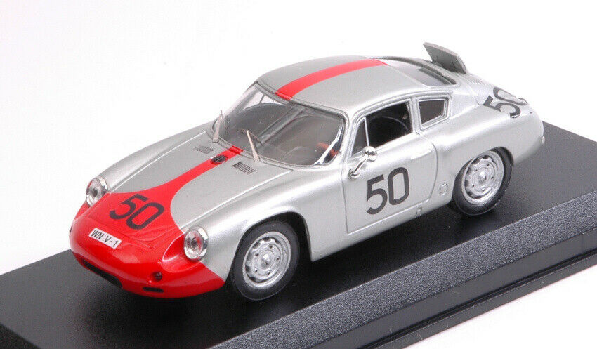 Porsche Abarth  50  Retirouge Targa Florio 1962 Strahle hahnl 1 43 model  magnifique