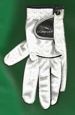 Nuevo Donnay Pro una mano izquierda Guante De Golf Blanco Tamaño Damas Grande todo el tiempo