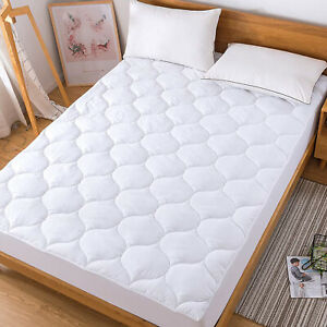 Cooling Mattress Pad Down Alternative Quilted Matress