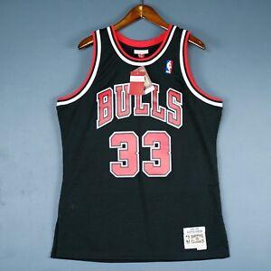 huge selection of eecba aca34 Details about 100% Authentic Scottie Pippen Mitchell Ness Bulls Swingman  Jersey Size M 40 Mens