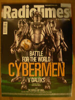 RADIO TIMES DOCTOR WHO 8th JULY 2006 CYBERMAN v DALEKS 2 OF 2 SPECIAL COVERS