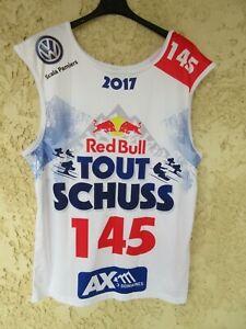 Maillot ski RED BULL TOUT SCHUSS n°145 AX 3 DOMAINES 2017 shirt
