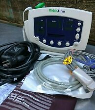 Welch Allyn 53ntp Patient Monitor New Battery Nell Spo2 Temp Printer
