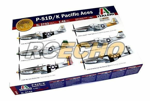 ITALERI Aircraft Model 1 48 P-51D   K Pacific Aces Scale Hobby 2743 T2743